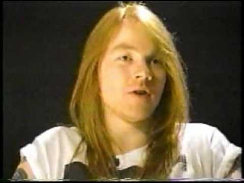 Axl Rose Interview