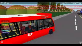 Roblox East London Project V2.5 Optare Solo Dual Door CTP on Route W19