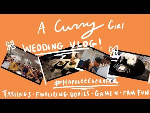 WE ARE DONE PLANNING THE WEDDING | Charlotte Vlog | Sydel Curry