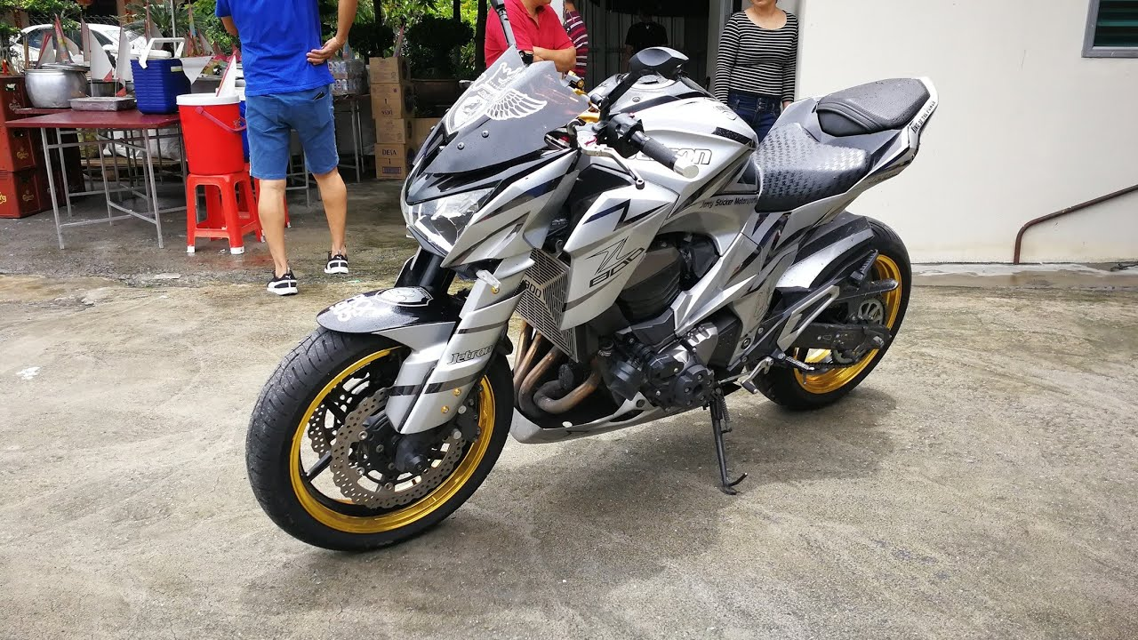 Kawasaki Z800 Custom Made Exhaust Sound