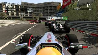 F1 2011 PC - Benchmark Run Ultra Settings