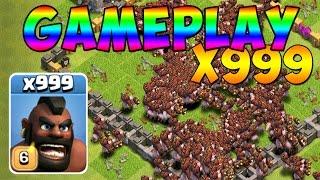 [EPIC] ATTAQUE AVEC 999 COCHONS MAX LEVEL - Clash of Clans
