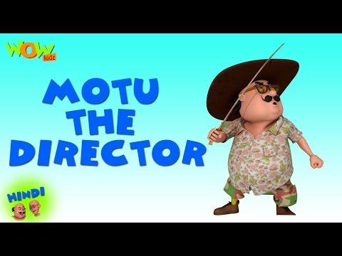 Motu The Director- Motu Patlu in Hindi - 3D Animation Cartoon -As on Nickelodeon thumbnail