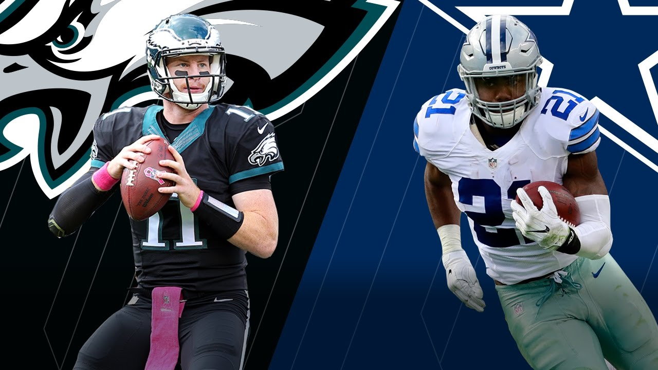 502ed37b9 Carson Wentz & the Eagles vs. Ezekiel Elliott & the Cowboys | Hype Trailer  (Week 8) | NFL - YouTube