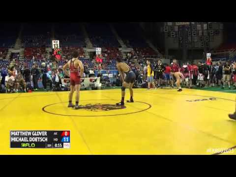 120 Champ. Round 2  Michael Doetsch Maryland vs. Matthew Glover Alaska