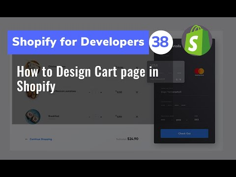 38 How to Design Cart page in Shopify  -  Shopify for Developers thumbnail