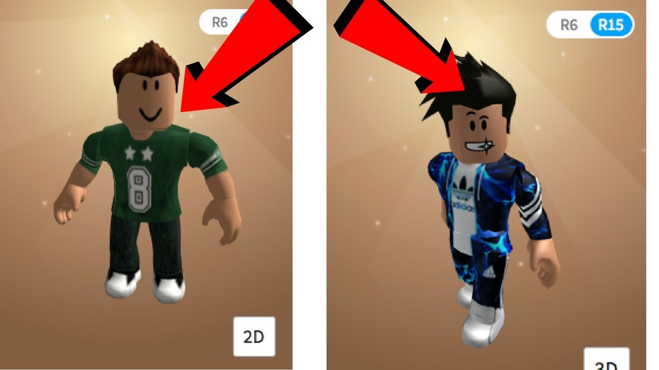 from noob skin to rich skin - roblox