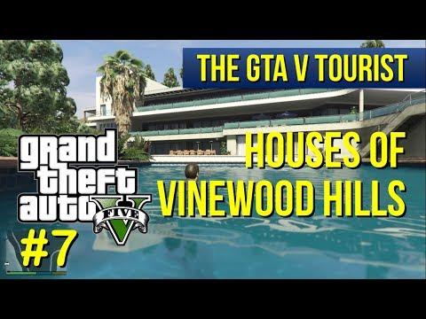 The GTA V Tourist: Houses of Vinewood Hills - Part 7 (Lake Vinewood Estates area)