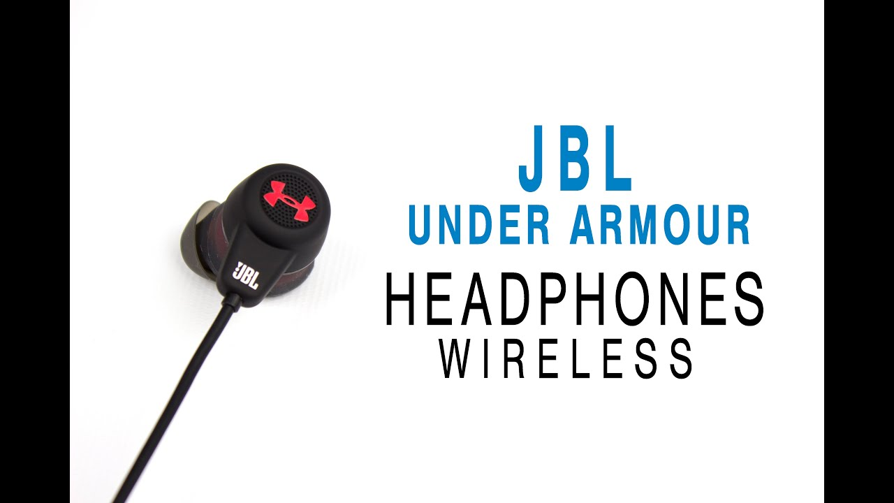 JBL Under Armor (UA) Headphones Wireless Review - YouTube 81ac3f1ac6