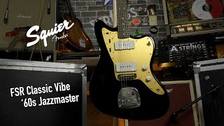 Squier FSR Classic Vibe '60s Jazzmaster - All Playing, No Talking