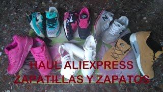 Haul Aliexpress zapatillas y zapatos