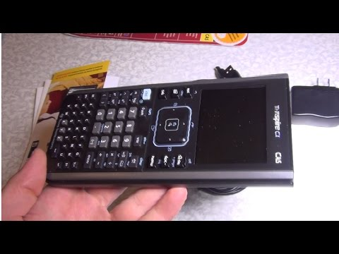 Texas Instruments Nspire CX CAS Colour Graphing Calculator extended review through