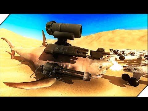 АКУЛЫ ПРОТИВ АНАКОНД - Игра Beast Battle Simulator. СИМУЛЯТОР БИТВЫ ЖИВОТНЫХ