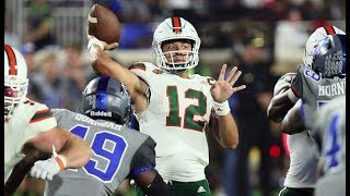 Miami Hurricanes Highlights @ Duke