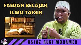 Download ILMU TAFSIR 1 | Ustaz Auni Mohamed