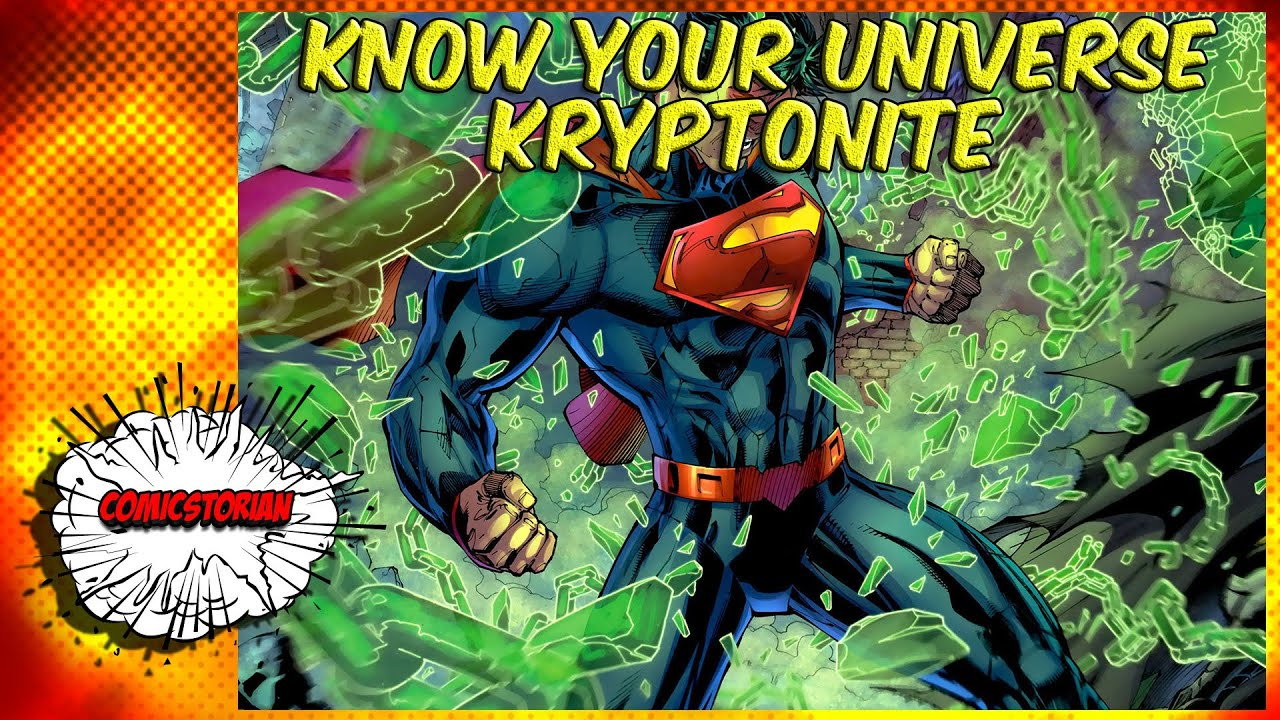 All Kryptonite Superman  Know Your Universe
