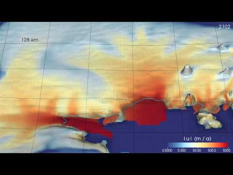 Simulation of the Amundsen Sea Embayment over three centuries of sustained retreat