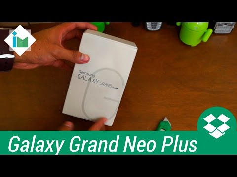 Samsung Galaxy Grand Neo Plus - Unboxing en español