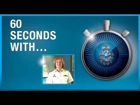 60 Seconds with Commodore Marta Mulkins, Commander of the Naval Reserve