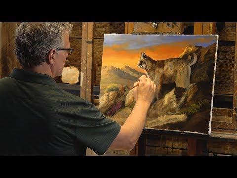 Wildlife Artist Trevor Swanson