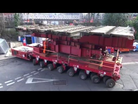 Rickmansworth Met Rail Bridge Replacement Full Video 2016
