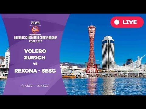 Volero Zurich v Rexona - Sesc - Women's Club World Championship 2017 Kobe