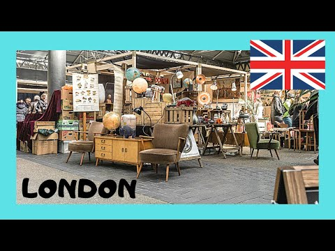 LONDON, a tour of graphic Old Spitalfields Market