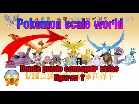 pokemon scale world SXG studios Como comprar estas figuras?