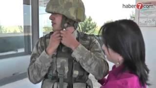 Sınırda nöbet tutan askeri ağlatan Anne sürprizi