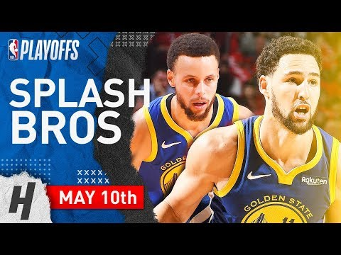 Stephen Curry & Klay Thompson Game 6 Highlights vs Rockets 2019 NBA Playoffs - 60 Pts Combined