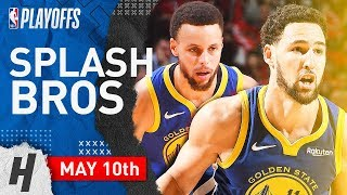 Stephen Curry & Klay Thompson Game 6 Highlights vs Rockets 2019 NBA Playoffs - 60 Pts Combined!
