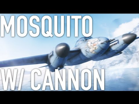 Battlefield 5 - Mosquito FB MKVI Overview / Gameplay (Cannon Variant) thumbnail