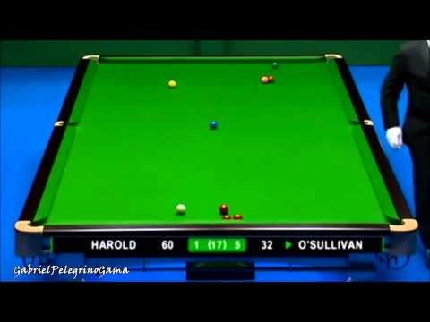 [1080p Remastered] Ronnie O'Sullivan's Exquisite Clearance against Dave Harold - N.I.C. 2008