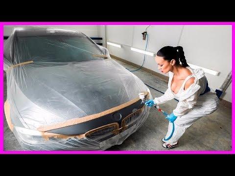 Как правильно перекрасить автомобиль