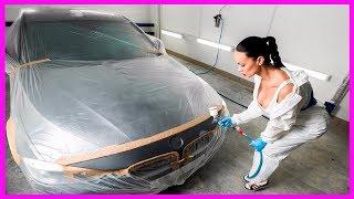 Как перекрасить авто СНИМАТЬ КРАСКУ или нет ЧТО делать с грунтом