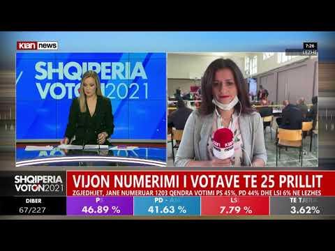 LIVE Tv Klan News/ Shqiperia Voton 2021 - Zgjedhjet parlamentare 26 Prill 2021