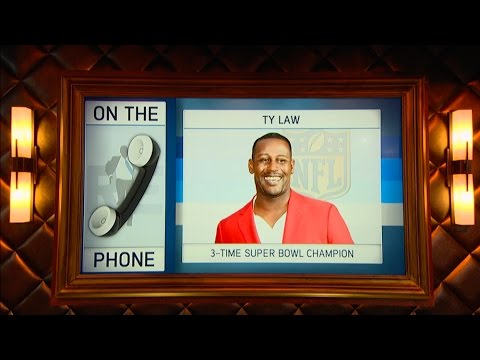Former Patriot & 3-Time Super Bowl Champion Ty Law Talks Brady vs. Manning XVII - 1/21/16
