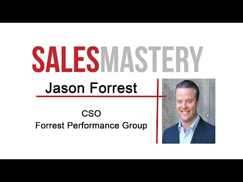 Selling is Easy - Sales Psychology Tips from Jason Forrest