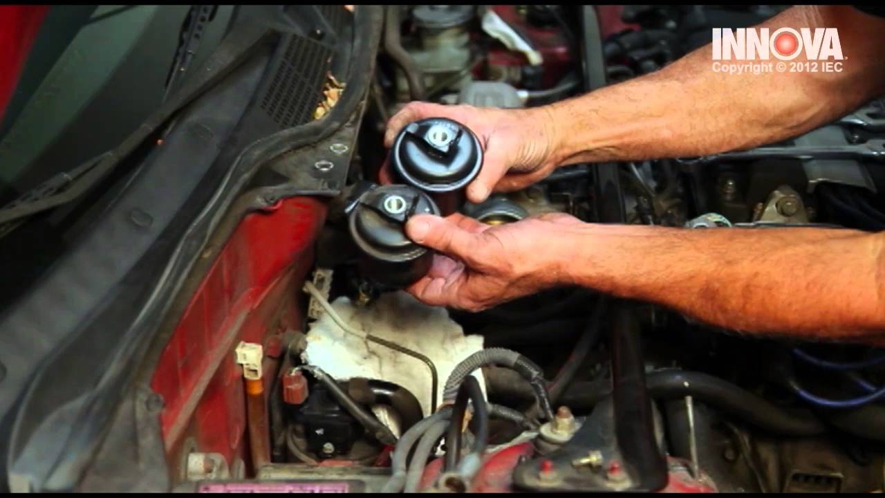 how to change fuel filter - 2000 honda civic - youtube  youtube