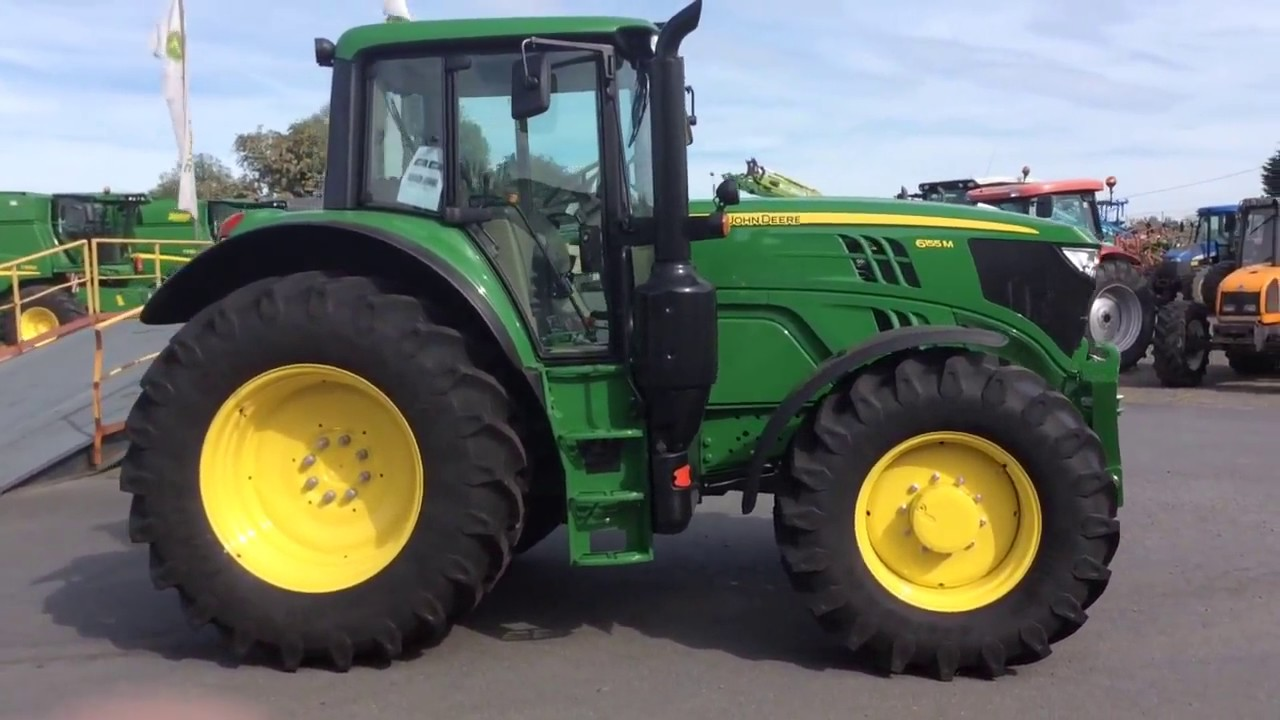 nouveau tracteur john deere 6155m youtube. Black Bedroom Furniture Sets. Home Design Ideas