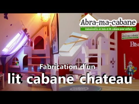 tuto fabrication lit cabane ch teau diy youtube. Black Bedroom Furniture Sets. Home Design Ideas