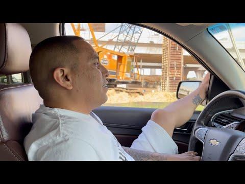 Driving through Texas