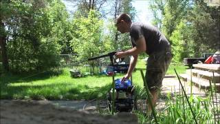 Review of Subaru 3100 PSI 2.4 GPM Pressure Washer Electric Start PS80310EP8