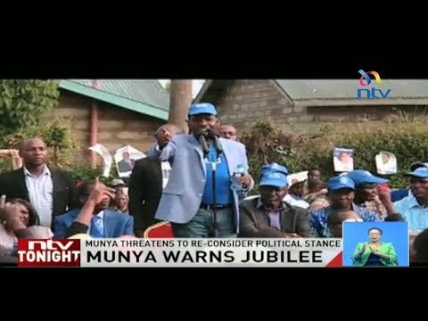 Meru governor Peter Munya says administrators being used to frustrate his campaigns