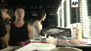 Actress Gong Li attends first shows at Shanghai Fashion Week