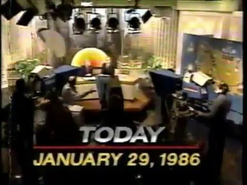 The Challenger Disaster: 1-29-1986 Morning News Reports
