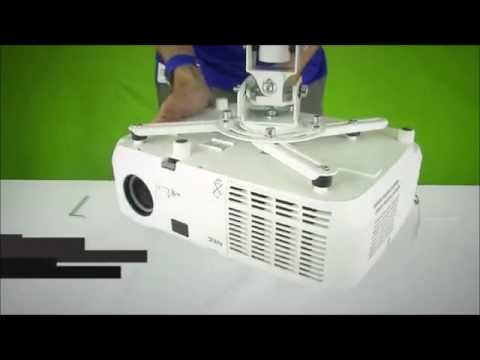 Soporte universal para proyector o videobeam youtube - Soporte pared proyector ...
