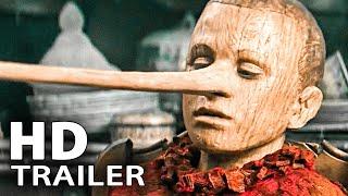 PINOCCHIO Trailer Deutsch German (2020)