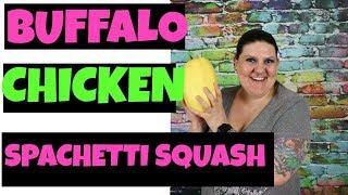How To Meal Prep Buffalo Chicken Spaghetti Squash (2B Mindset)