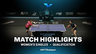 Andrea Pavlovic vs Elizabet Abraamian | WTT Contender Budapest 2021